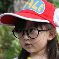 Free shipping children's glasses baby boys and girls summer glasses frames without lenses concave shape wholesale