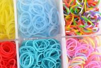 20sets 1800rubbers new 2014 loom kit box Loom rubber bands Kit knitting machines Children fun loom