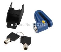 Free shipping Bicycle disc brake lock motorcycle bicycle lock electric bike cable lock alarm security lock