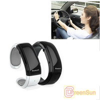 Free 3 color  Bluetooth Bracelet watch answer call w/ Vibration + Mic + Time + phone anti-theft for Iphone 5 5s for Note 3 S3S4