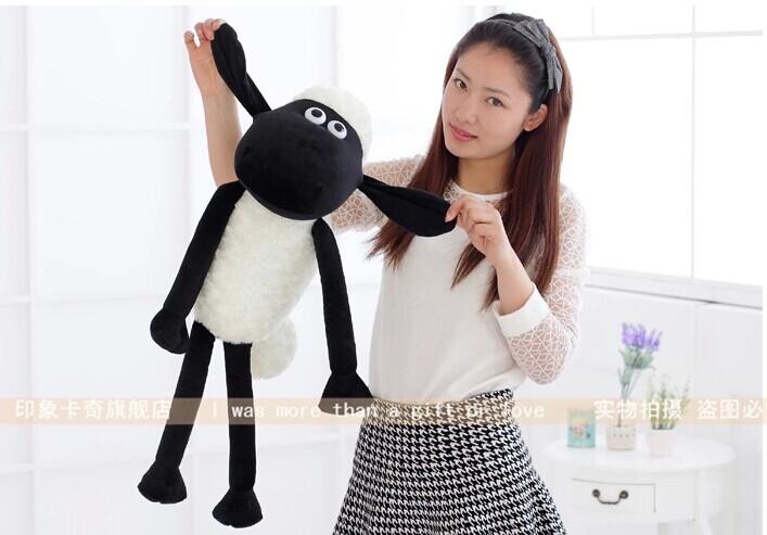 stuffed animal shaun the sheep about 75cm sheep plush toy soft doll gift w2284(China (Mainland))