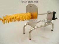 New 3in1 Tornado Potato Cutter Twister Potato Spiral Potato Cutting Machine Potato Spiral Slicer