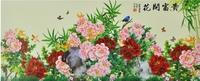 Mural tv background wall wallpaper libang flowers wallpaper 51 peones