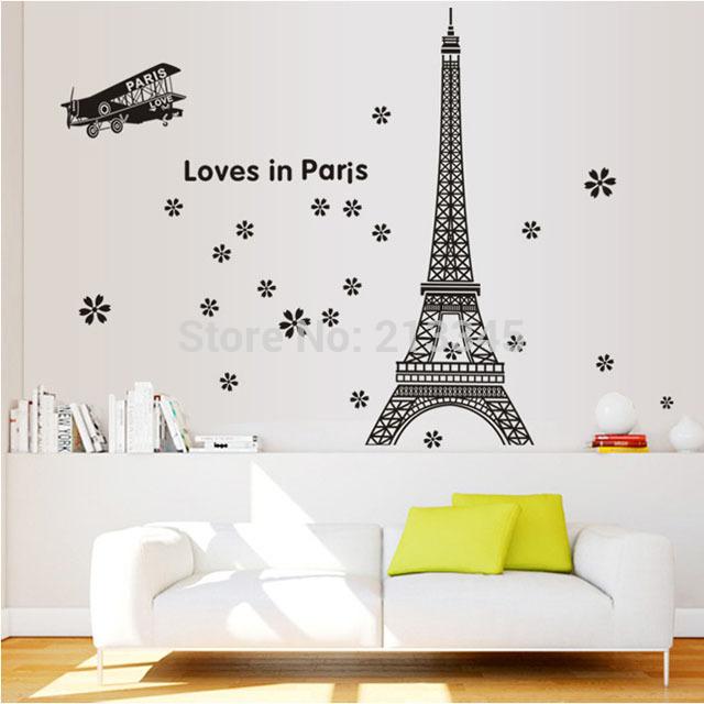 Online kopen wholesale vliegtuigen stickers uit china vliegtuigen stickers groothandel - Decoratie themakamer paris ...