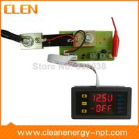 CLEN VAM7520P Adjustable Digital Voltmeter Ammeter 75V 20A Voltage Current Power Multimeter