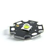 5pcs Cree XLamp XM-L2 XML2 T6 Cool White 1052 Lumen Led Emitter Light with 20mm Star Board For flashlight Free Shipping