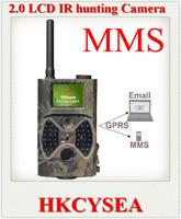 Free Shipping MMS/GPRS hunting camera New HD Wildlife Digital Infrared Trail Camera 2.0'' LCD 12MP hunting animal equipments