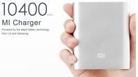 100% Original Brand Xiaomi Power Bank 10400 mAh external battery Portable Charger for iPhone5 5s/Samsung galaxy/xiaomi