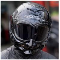 Free shipping Malu Sen Malu Shen motorcycle helmet half helmet Summer Helmet C609 dual lens marushin warrior grimace