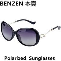 2014 New  Women Polarized Sunglasses  Classic fashion woman Sun glasses UV 400 Woman shades oculos with case black 1016A