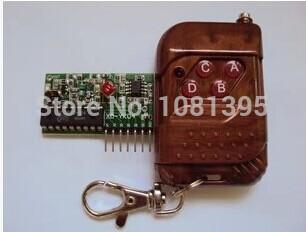 4pcs=two ensemble. 2262/2272 19e quatre- voies télécommande sans fil m4 pas recevoir plaque avec quatre clé télécommande sans fil
