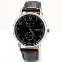 2013 hot brand name watch dropshipping quartz waterproof Leather Band men fashion watch business curren watch free shipping