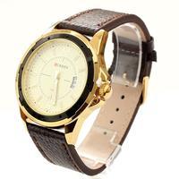 Curren Brand Watch Men Luxury Leather Wristwatches Quartz Calendar relogio masculino Fraee Shipping