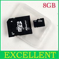 Free shipping 8GB MicroSD Micro SD HC Transflash TF CARD 8gb #8088