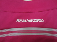 Player Version!!! Real Madrid Away Pink Soccer Shirt 14/15,Thailand Quality Real Madrid Pink Jersey+Free Shipping