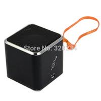 Free shipping MD07U USB speaker TF card sound box+FM radio+Card reader+100% original+MD07 upgraded mini speaker!