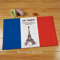 Free shipping  40cm * 60cm British, American, French flag carpet,Bedroom, living room floor mats non-slip mats