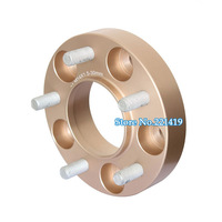 5 gaats 25mm Improved Golden Version CNC Wheels Hubcentric Spacers Track Increasing Wider Spacer