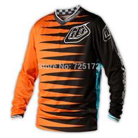 Hot sale! 2014 Troy Lee Designs TLD Jersey Sport motocross GP Youth Jersey Joker shirt Orange/Black