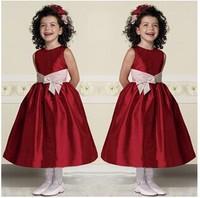 Lovely flower girl dress piano performance clothing birthday party dress girl.
