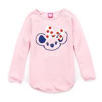 Girls Brand t shirt Long Sleeve tee shirt Fall new arrival size 7-16 Years Bear