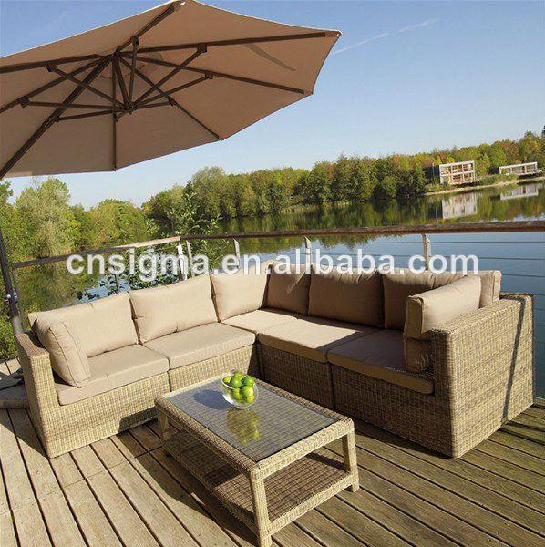 2015 Modern design outdoor furniture rattan dubai sofa furniture(China (Mainland))