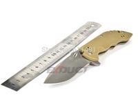 New Sanrenmu 9054MV Tan G10 Handle Slip Joint Knives, EDC multifunction tools Knife pocket knife