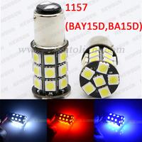Canbus design 1157 BA15D P21W-5W 27 SMD 5050 LED Brake Tail Turn Signal Light Bulb Lamp white Auto 1157 led Car bulb light 12V