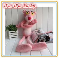 1PCS 40CM (15.7 inch) Fashion Cute Children Plush Stuffed Toys. Pink Panther Plush Doll. Kids Favorite Best Holiday Gift