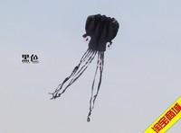 Free Shipping!!hot sale 5.5 m single Line Stunt Black Octopus POWER Sport Kite