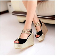 Free shipping fashion women shoes sandals big size