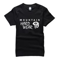 2015 summer famous outdoor sport brand mountain hard wear T Shirt cotton t-shirt man top tee casual man short sleeve plus size