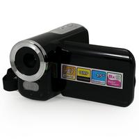 "Free Shipping! Quality Black HD 1280*720 16 MP Mini Portable Home Digital Video Camera DV Camcorder 16MP 8xZoom 1.5"" LCD, DV-168"
