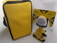 SINGLE PRISM SET FOR TOTAL STATION SURVEYING +SOFT BAG