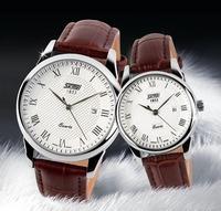Newest Watches Fashion Casual Quartz Watch 30m Waterproof Leather bracelet For Men Women Sports Dress Wristwatches
