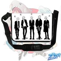 New free Haruka Nanase S-M BAG  Anime surrounding canvas shoulder bag  Inclined shoulder bag chool bag Free Shipping