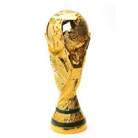 New 2014 world cup trophy RESIN 27CM WM-POKAL CUP REPLICA 2014 brazil world cup best soccer fan gift Free shipping