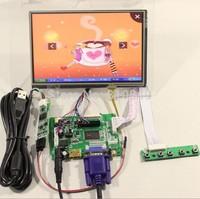 "HDMI+VGA+2AV LCD driver board VS-TY2662-V1+7""1280*800 N070ICG-LD1/LD4+touch panel"