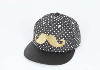 fashion mustache Beard boys girls casual snapback dot baseball caps men women Accessories gorra casquette raiders sun hats H34