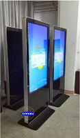 46 inch floor stand all in one touch ad display