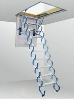 Retractable Stairs Warehouse EXtending Stairs RS-010 AIPPLE