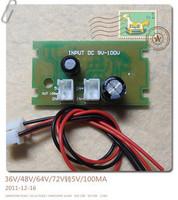 Free shippingLM5009 DC-DC step-down input 9V-95V output voltage 5V (C5A3)