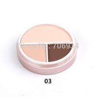 Foundation Makeup Powder Minerals Escentuals Studio Fix Powder 1pcs 3colors Super Soft Two Way Cake Foundations Make-up1-3#