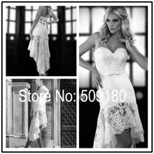 short front long back wedding dress price