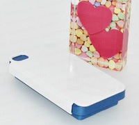 3D sublimation 2 in 1 silicon phone cases mould for iphone 4/4s heat transfer printed mould heat transfer accessories