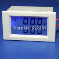 Free shipping>D85-3050 digital ammeter DC voltage 19.9V 50A (D3A1)