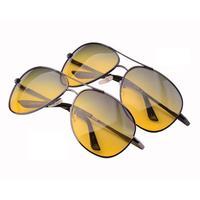 Polarized Day And Night Driving Sunglasses Night Vision Driving Glasses Goggles Reduce Glare Anti-vertigo Sun Glasses