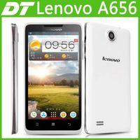 Original Lenovo A656 5 Inch IPS Mtk6589M Quad Core Mobile Phone Russian 512MB 4GB 5.0mp Multi Language