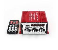 2014 Red MA-600 20W+20W mini Car Amplifier USB SD DVD CD FM MP3 Digital LED display Motorcycle new arrival