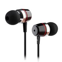 A+++ Top Quailty Stereo Bass Metal Ear Headphones Universal for Mobile phone Computer MP3 earphonese  earpods B-2
